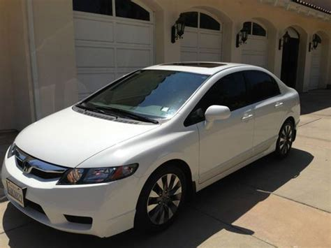 auto air conditioning service 2010 honda civic navigation system purchase used 2010 honda civic ex 4 door navigation sunroof 15 951 miles original owner in