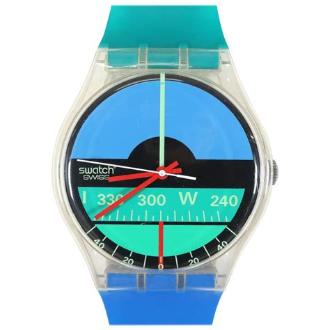wall swatch big wall clock by swatch 1987 for sale at 1stdibs