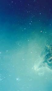 Light Blue Galaxy   iPhone Minimal Wallpaper Collection ...