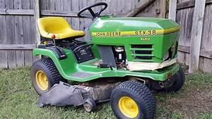 John Deere Stx38 Riding Mower Starter Replacement