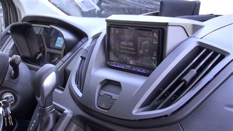 ford transit audio upgrade   pioneer  apple car