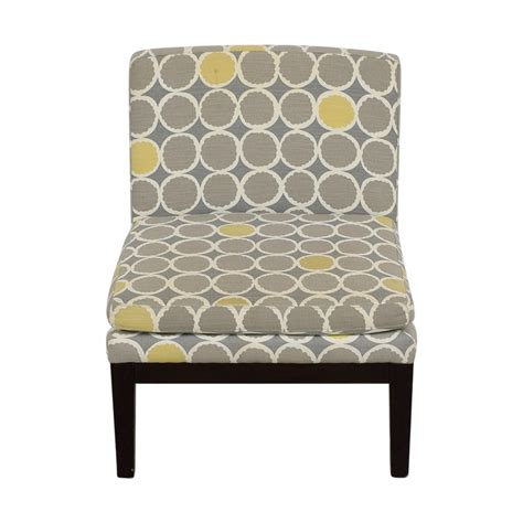 72% Off  West Elm West Elm Grey Yellow And White Accent