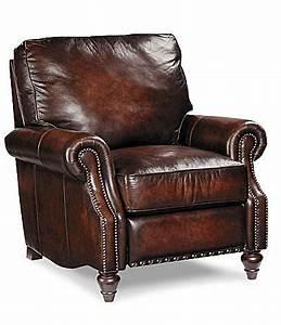 Bernhardt QuotBoulderquot Leather Recliner Home