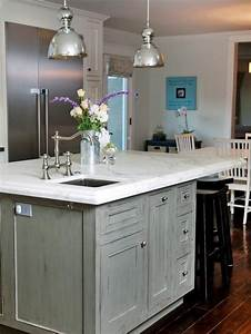 Distressed Pendant Light Coastal Kitchen And Dining Room Pictures Dark Gray