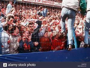 Hillsborough disaster Fans crushed against fence during FA ...