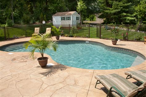 pool material which pool deck material is right for you hfs financial