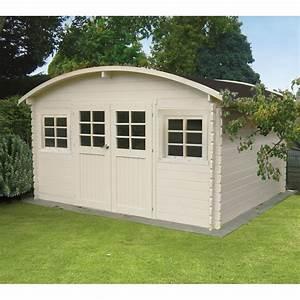 Toit En Bois : abri de jardin bois massif 28mm 11 56m avec toit berceau ~ Melissatoandfro.com Idées de Décoration