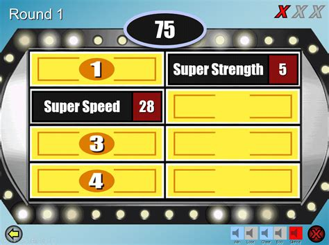 family feud powerpoint templates  teachers