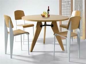 Table Ronde Cuisine : optez pour la table ronde de design moderne ~ Teatrodelosmanantiales.com Idées de Décoration