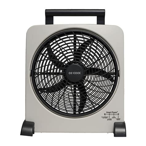 o2cool 10 portable fan upc 755247010328 o2cool fans rechargeable 10 in fan