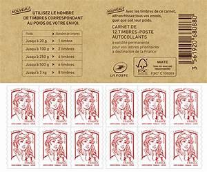 Poids Courrier Timbre : carnet de 12 timbres marianne rouge lettre prioritaire boutique particuliers la poste ~ Medecine-chirurgie-esthetiques.com Avis de Voitures