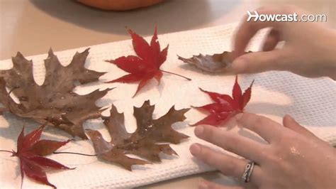 house decorations  autumn leaves youtube