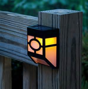 Decorative Street Lamp Post by Solar Powered Wall Led Lights Lamp Outdoor Landscape