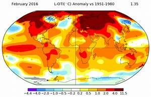 NASA confirms February 2016's shocking global warming ...