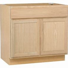 Assembled 36x345x24 In Sink Base Kitchen Cabinet In