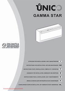 Olimpia Splendid Star 11 Hp He User Guide Manual Air