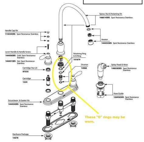 repairing leaky kitchen faucet i a leaky moen kitchen faucet and i can seem to get