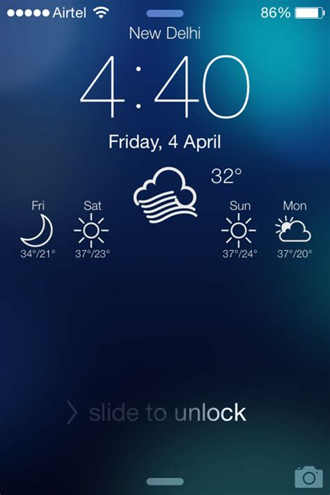 iphone lock screen app 5 free iphone apps to customize lock screen
