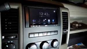 How To Install A Aftermarket Head Unit Stereo Radio In A Dodge Ram 1500 2013