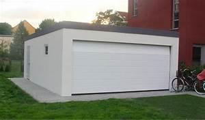 Garage En Bois Toit Plat : garage m tallique toit plat cr pis 2 voitures porte large ~ Dailycaller-alerts.com Idées de Décoration