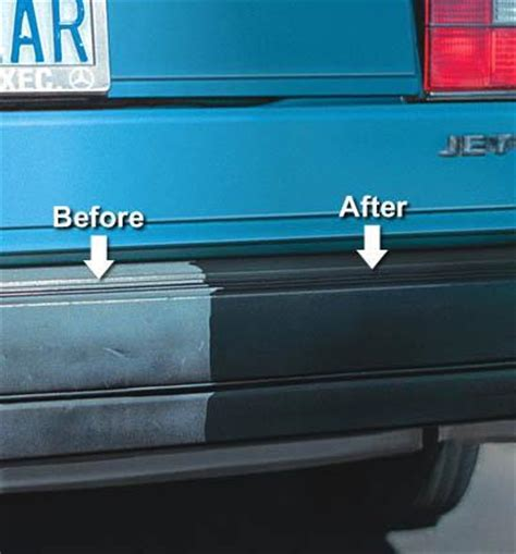 how to restore faded outdoor light fixtures forever black bumper trim dye kit restore faded bumpers