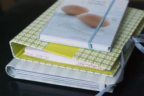 cahier de recette de cuisine mes cahiers de recette ou comment arrêter d 39 avoir des petits papiers partout chez requia