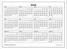 Calendarios 2018 DS Michel Zbinden es