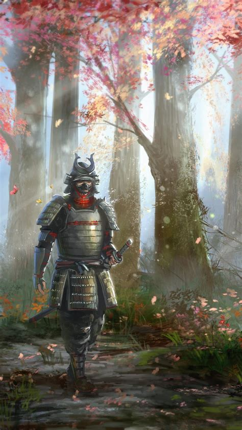 samurai artwork warriors wallpaper