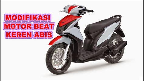 Variasi Motor Beat Putih by Gambar Modifikasi Motor Beat Modifikasi Yamah Nmax