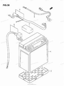 Suzuki Atv 2005 Oem Parts Diagram For Battery