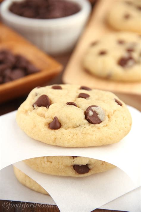 ultimate healthy soft chewy chocolate chip cookies