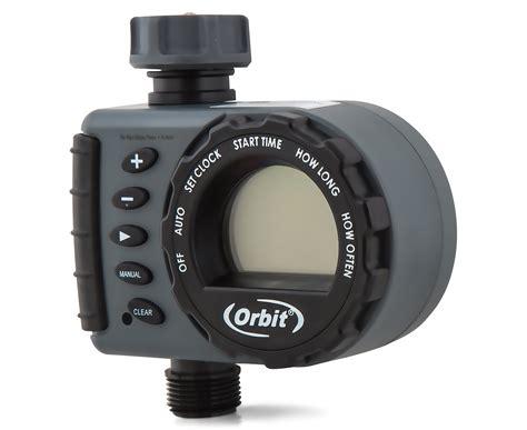 orbit 1 outlet hose faucet timer grey black ebay