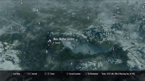 moss mother cavern  elder scrolls  skyrim wiki