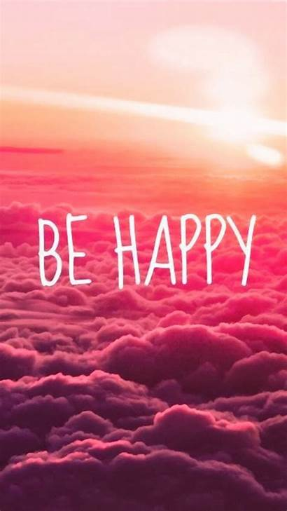 Happy Iphone Clouds Wallpapers Puffy Worry Dont