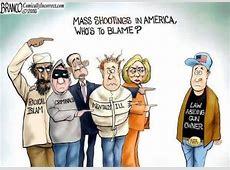 gun control cartoon mass shootings blame the law abiding