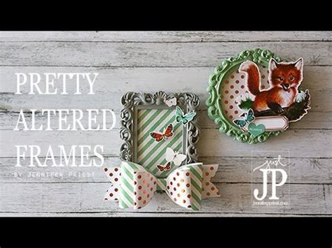 Pretty Altered Picture Frames For Dollar Youtube