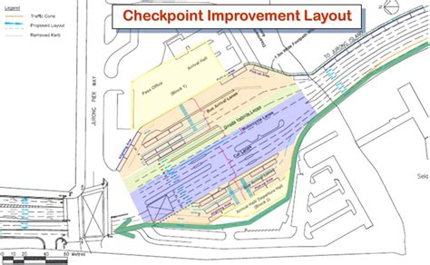 cpg consultants jurong island checkpoint contra flow study