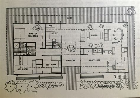 floor plans mid century modern house plan plans ranch floor interiors