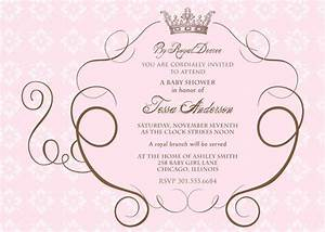 cinderella39s royal carriage baby shower invitation With cinderella invitation to the ball template