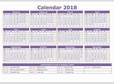 Printable Calendar 2018 2018 Blank Printable Calendar