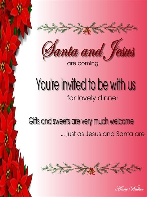 invitation for christmas party invitation template and wording ideas