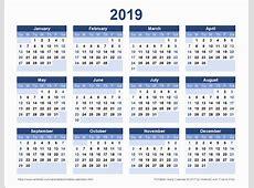 2019 Calendar Uk 2019 Calendar Printable 2018 Calendar