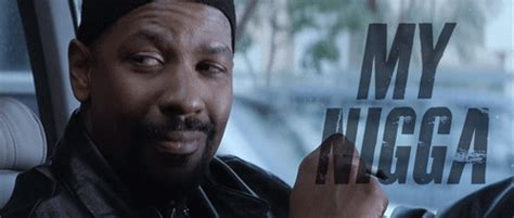 Denzel Washington Training Day Meme - ima ride for my mother fuckin niga look like ima die wi t my finger on the trigger when i see
