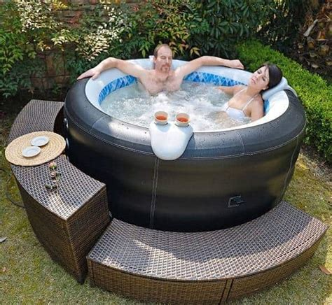affordable  reliable inflatable hot tub ideas