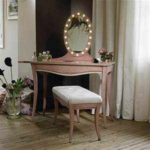 Coiffeuse Miroir Lumineux : la coiffeuse un meuble essentiellement f minin galerie photos d 39 article 2 15 ~ Teatrodelosmanantiales.com Idées de Décoration