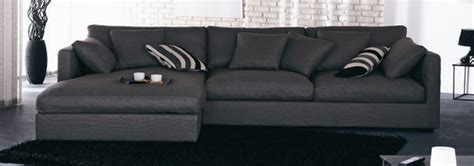 canapé d angle grande profondeur canapés d 39 angle bâtard et méridienne en tissu et velours