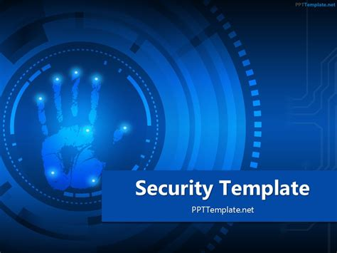 security palm print  template