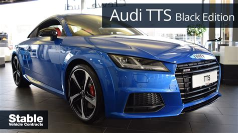 audi tts black edition ara blue walkaround   youtube