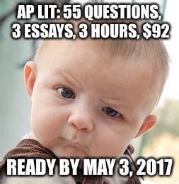 Ap Lit Memes - skeptical baby meme imgflip