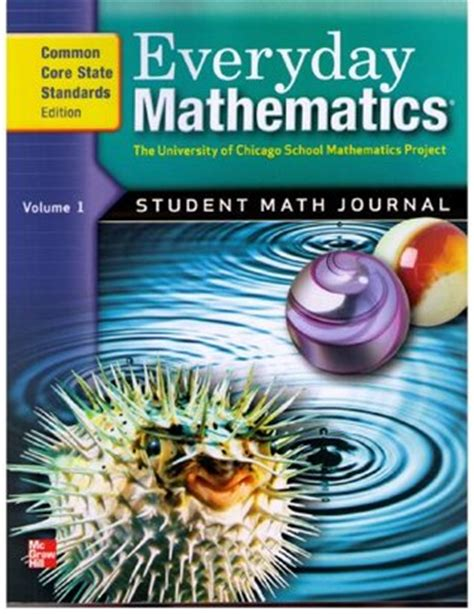 Everyday Mathematics, Grade 5 Student Math Journal, Common Core State Standards Edition By Max